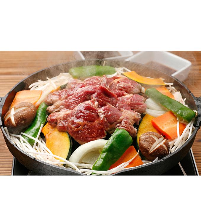 【ふるさと納税】地元で大人気のジンギスカン2種食べ比べ(大)2.4kg 【お肉・豚肉】