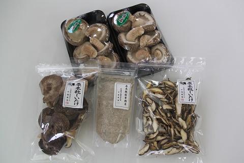 【ふるさと納税】中道農場 原木しいたけセット