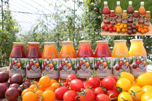 【ふるさと納税】まるほり野菜園 カラフルミニトマトジュースセットD