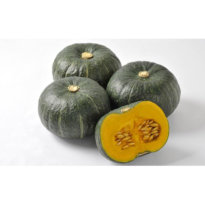 【ふるさと納税】北海道月形町産のかぼちゃ「虹ロマン」約10kg 1箱 【野菜】 お届け:2020年9月初旬~9月末頃まで