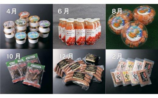 【ふるさと納税】加工品お試し定期便2(全6回)