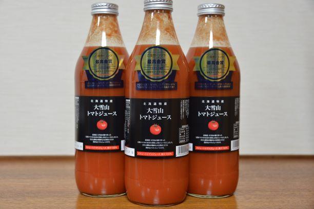 ふるさと納税 定番から日本未入荷 返品送料無料 大雪山トマトジュース有塩 3本入