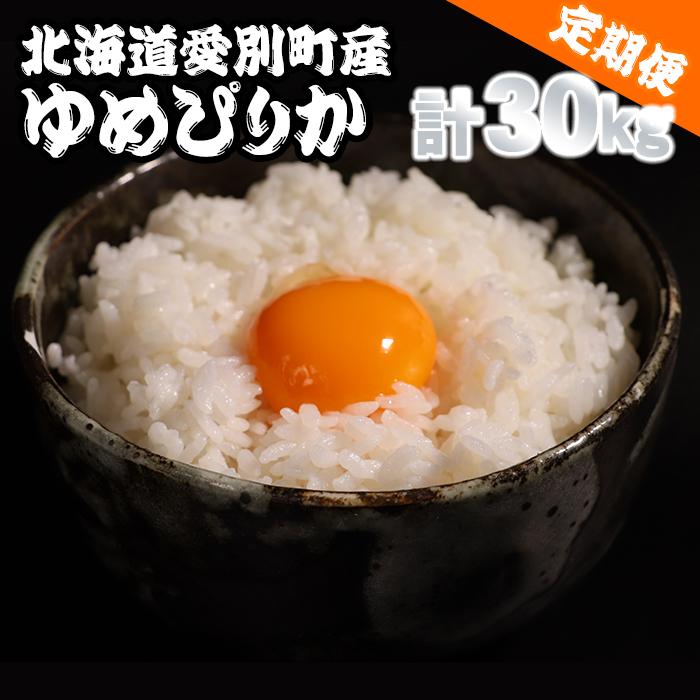 【ふるさと納税】愛別町産米(ゆめぴりか5kg×2袋)3ヶ月定期配送【A16304】