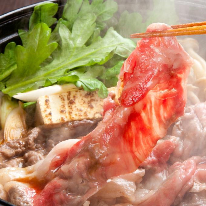 【ふるさと納税】かみふらの和牛【豪快盛り】すき焼きセット1.6kg 【牛肉・お肉・国産牛・すきやき・スキヤキ】