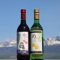 【ふるさと納税】ワインセット(かおりの赤、めぐみの白)各720ml