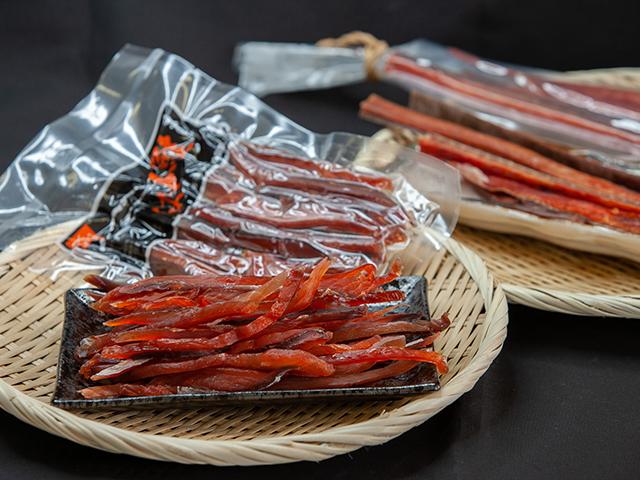 鮭トバセット 奉呈 ふるさと納税 3-010-009 ましけの鮭トバセット 入手困難