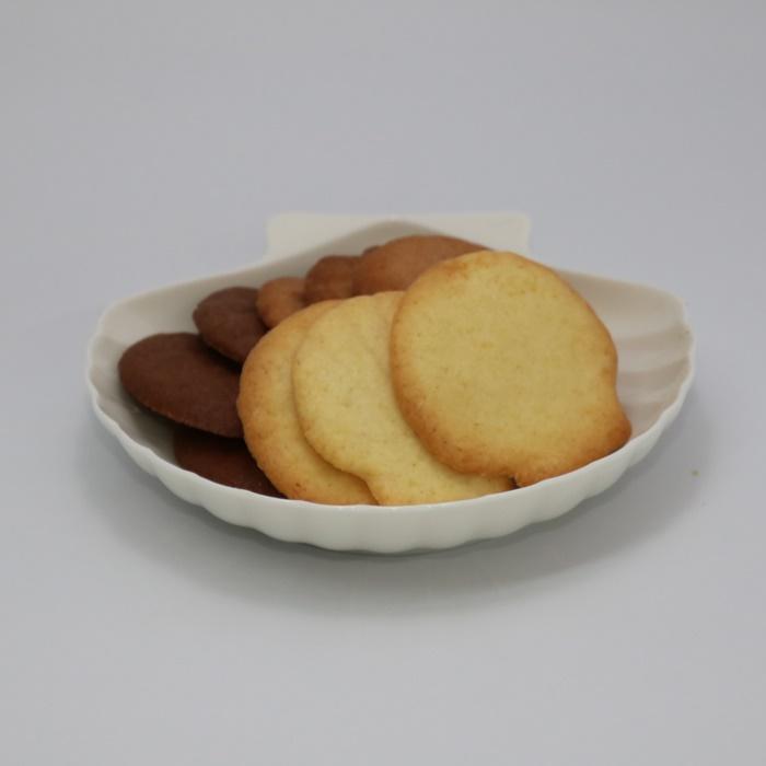 【ふるさと納税】北海道さるふつほたてクッキー「ほたてのちがい」3種各3枚×6袋【10002】