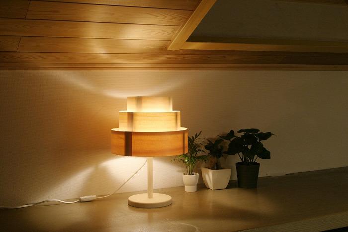 【ふるさと納税】加賀谷木材 木工工作キット あかりシリーズ《陽林》