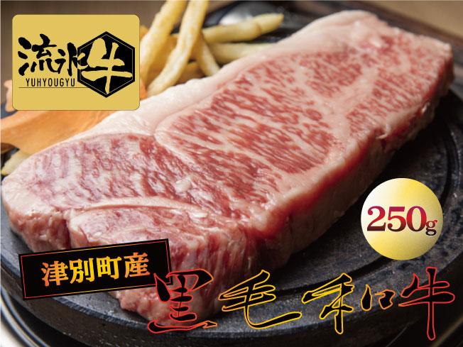 【ふるさと納税】流氷牛 ステーキ(サーロイン)250g