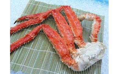 北海道オホーツク海で獲れる新鮮な身入りたっぷりのたらば蟹です! 【ふるさと納税】ボイルたらば蟹(足)【3507】