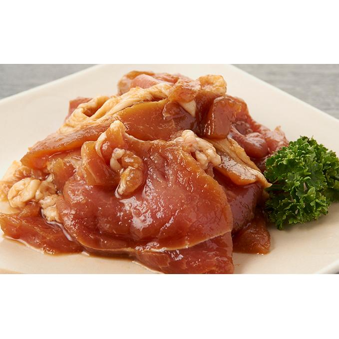 【ふるさと納税】サロマ豚ジンギスカンギフトセット 860g 【お肉・豚肉】