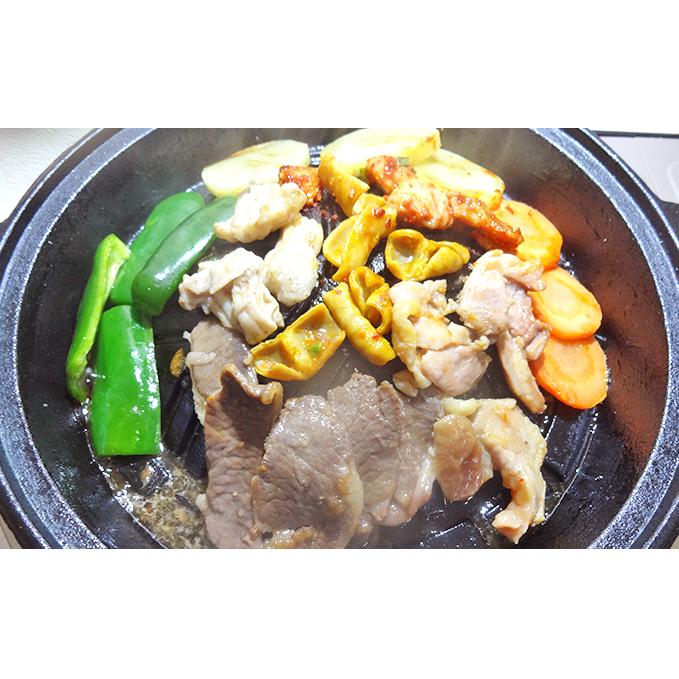 【ふるさと納税】ジンギスカンとホルモン焼肉セット オホーツク佐呂間 【羊肉・ラム肉・鶏肉・豚肉】