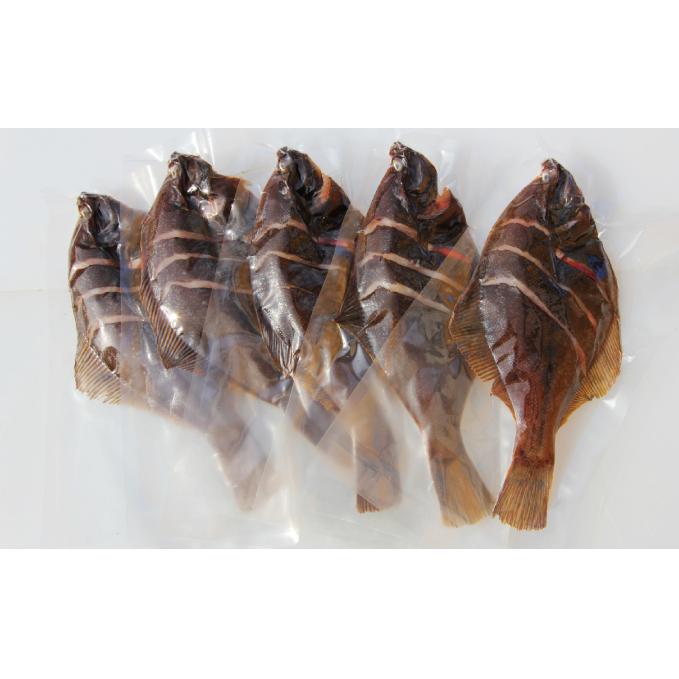 【ふるさと納税】オホーツク産 マガレイの一夜干し320g前後5枚セット 【魚貝類・干物】