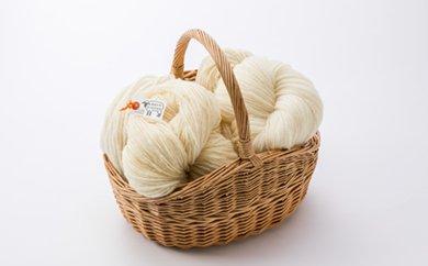 【ふるさと納税】北海道産 手つむぎ毛糸