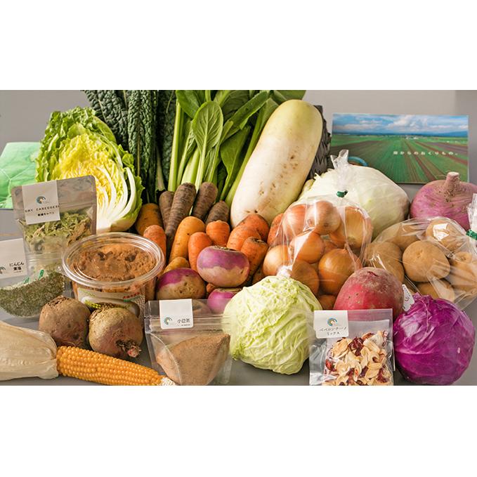 【ふるさと納税】ジオの恵み・畑からのおくりもの ~ありがとうボックス2020~ 【セット・詰合せ・根菜・野菜・ねぎ】 お届け:2020年11月25日~12月25日まで