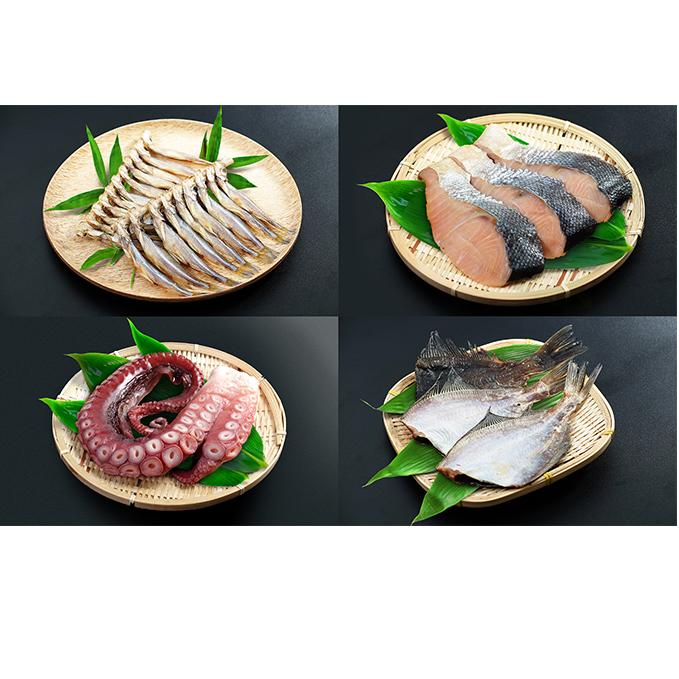 【ふるさと納税】漁師手作り魚詰め合わせセットA 【魚介類・魚貝類・鮭・いか・たこ・カレイ・ししゃも・セット・詰め合わせ】