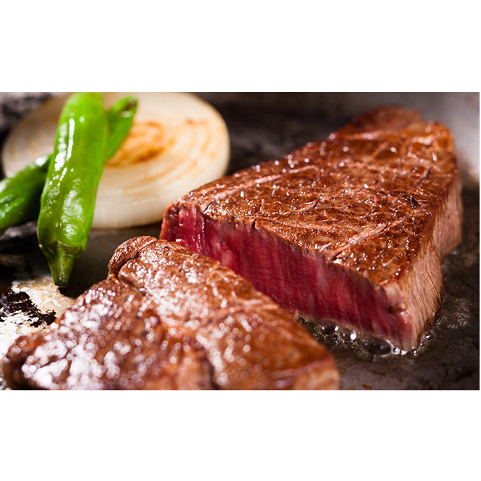 【ふるさと納税】日高牛ロースステーキセット180g×2枚 【お肉・牛肉・ステーキ】