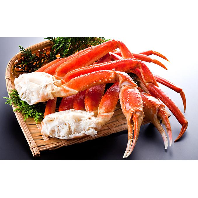 【北海道えりも町】 【ふるさと納税】ずわいがに(脚肉) 3kg 【蟹・ボイルカニ】