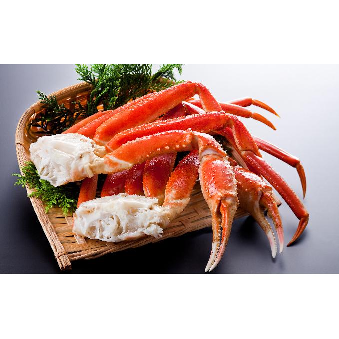 【北海道えりも町】 【ふるさと納税】ずわいがに(脚肉)1kg×2箱 【ずわい蟹・ずわいガニ・ズワイガニ】