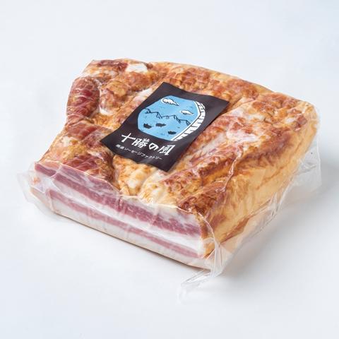 【ふるさと納税】[0543]十勝産豚のバラ肉ベーコン(1kg)