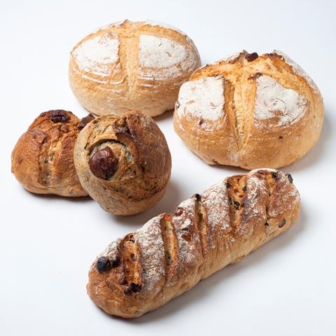 【ふるさと納税】[1213]とかち産ライ麦全粒粉ブレンド・パンドカンパーニュセット
