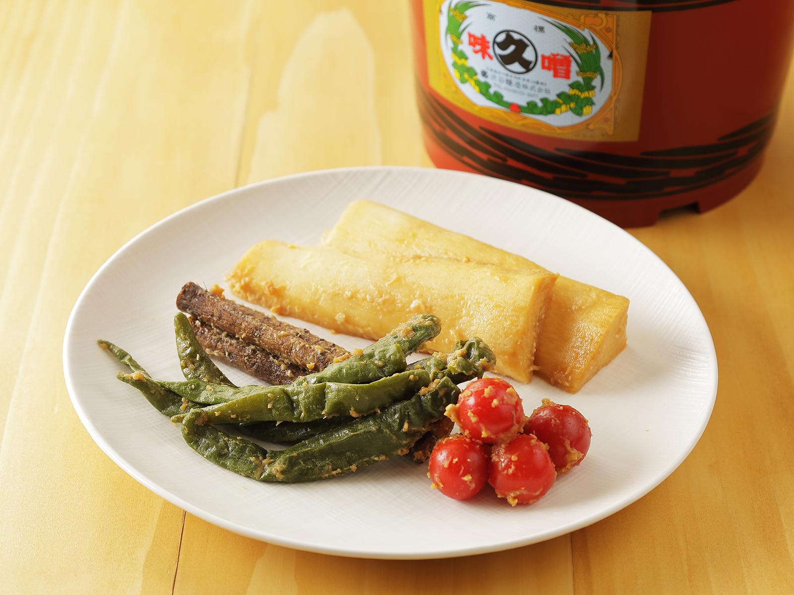 【ふるさと納税】北海道十勝 醗酵食品「樽仕込み 旬野菜の味噌漬け」
