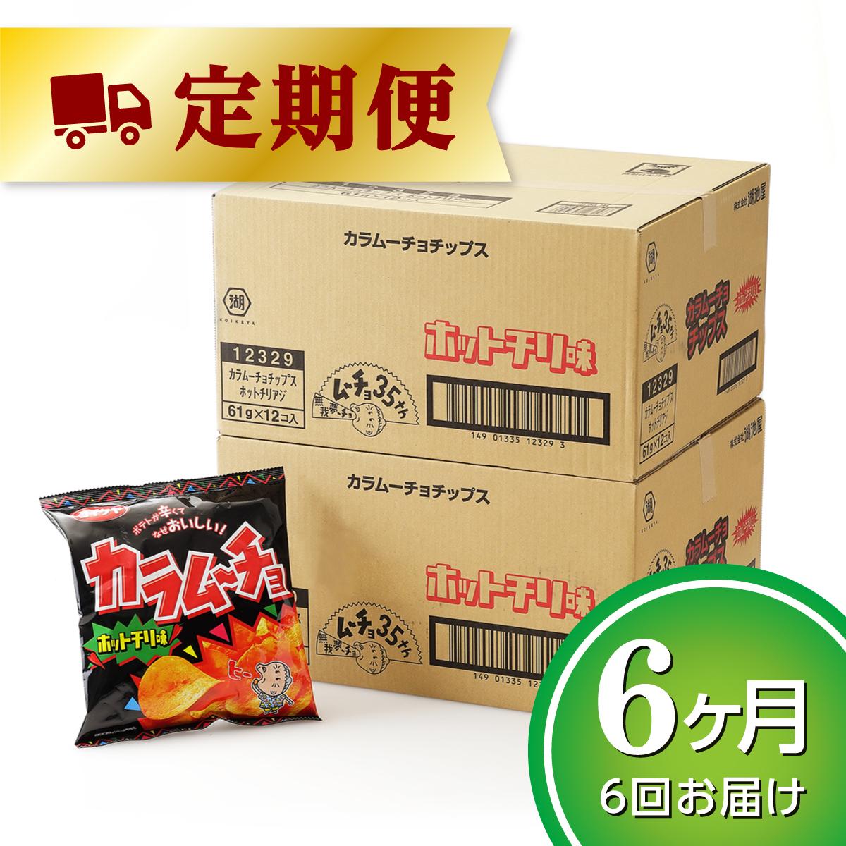 【ふるさと納税】湖池屋「カラムーチョチップス」12袋×2箱【6ヶ月】