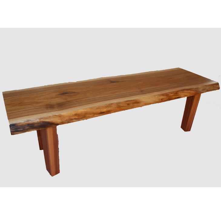 【ふるさと納税】[36]座卓(テーブル)クルミ・一枚天板【厚さ約4cm】