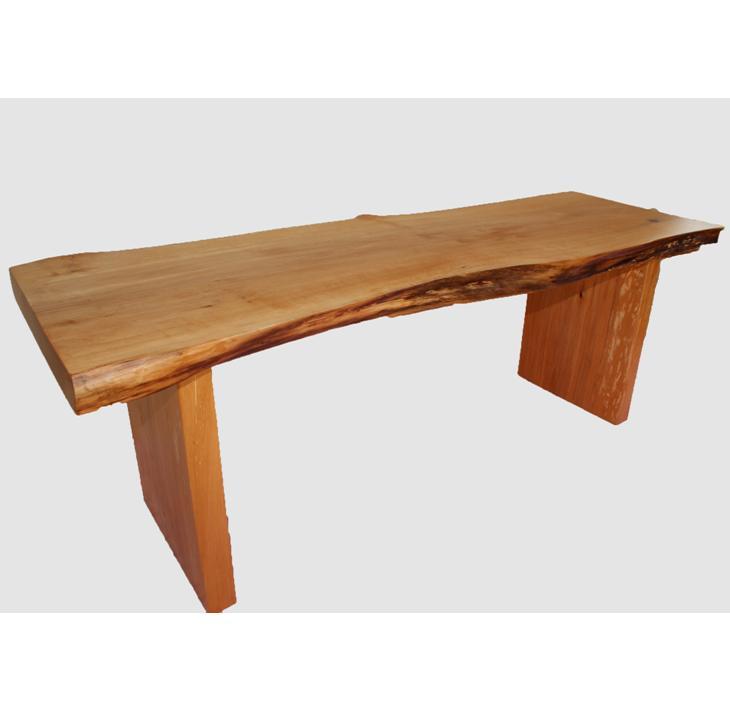 【ふるさと納税】[37]座卓(テーブル)ハン・一枚天板【厚さ約4.5cm】