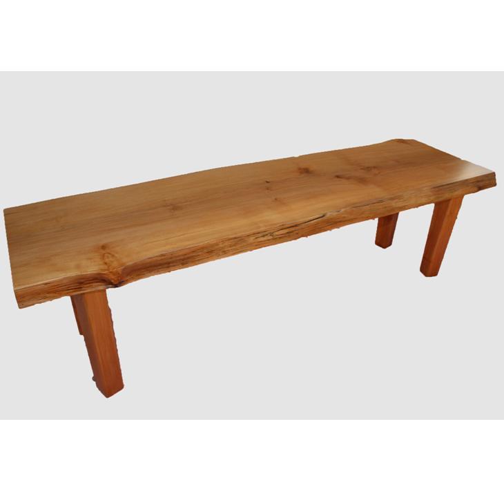 【ふるさと納税】[38]座卓(テーブル)ハン・一枚天板【厚さ約4.2cm】