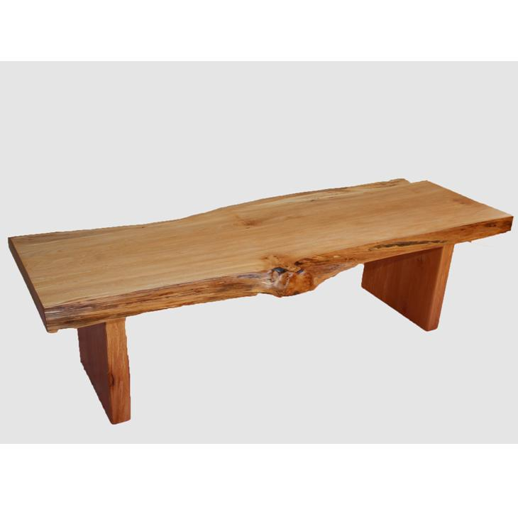 【ふるさと納税】[39]座卓(テーブル)ハン・一枚天板【厚さ約4.5cm】