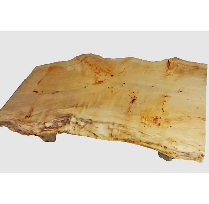 【ふるさと納税】[27]座卓(テーブル)バッコヤナギ・一枚天板【厚さ約6.5cm】