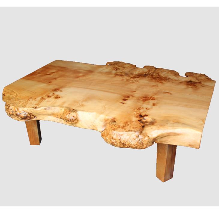 【ふるさと納税】[04]座卓(テーブル)カバ・一枚天板【厚さ約6cm 29kg】