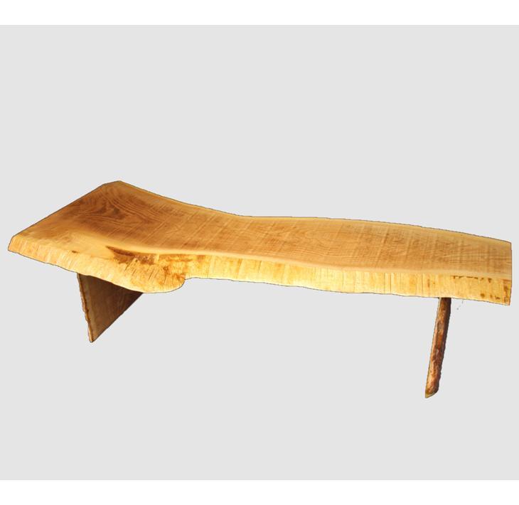 【ふるさと納税】[02]座卓(テーブル)キハダ・一枚天板【厚さ約3cm 6.5kg】