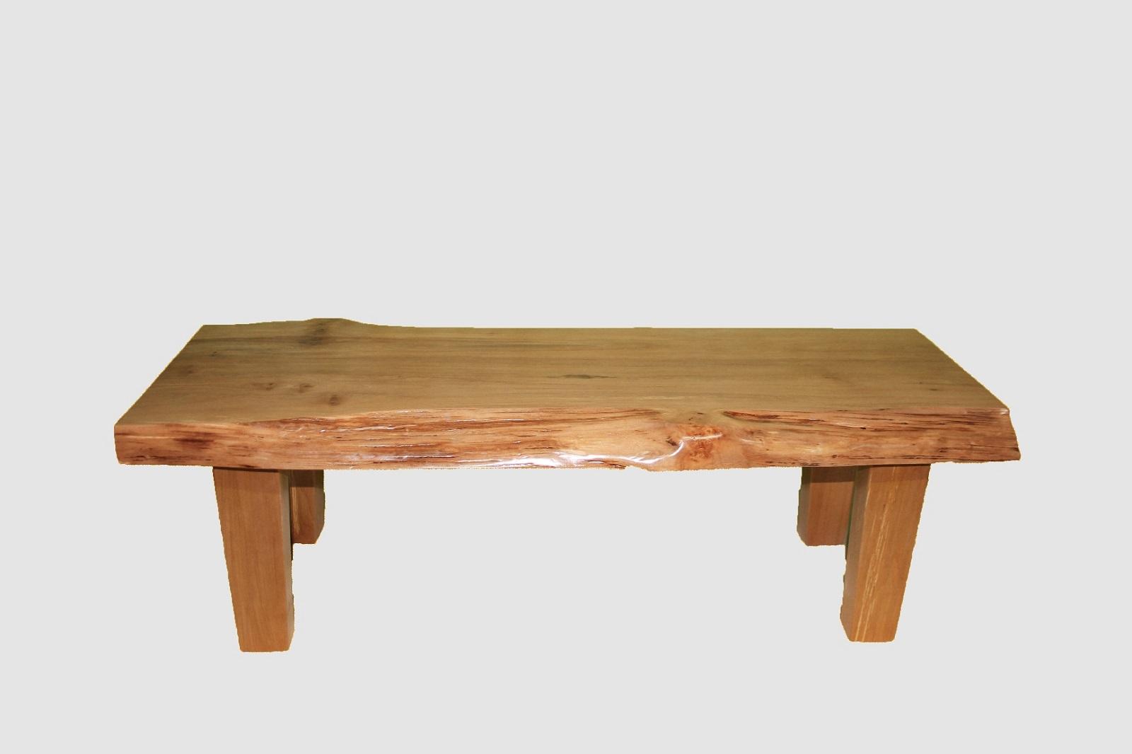 【ふるさと納税】[60]座卓(テーブル)ハン・一枚天板【厚さ約4.5cm】