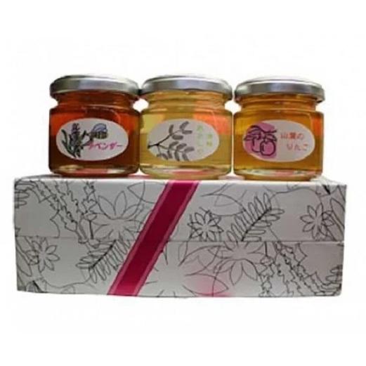 爆安プライス 青森県弘前市 ふるさと納税 青い森の極み3個セット はちみつ 公式 蜂蜜