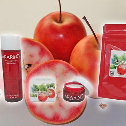 【ふるさと納税】AKARIN5 プロテオグリカンシリーズ3種セット 【果物類・林檎・りんご・リンゴ・化粧品】