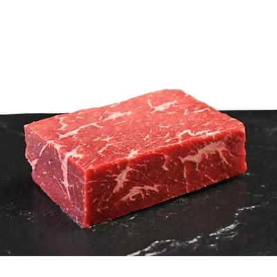 日本短角種を中心に赤身を主としたお肉です 激安通販ショッピング 購入 ふるさと納税 下北牛 赤身 ウチモモカブリナシ ステーキ むつ市 約300g 1110779