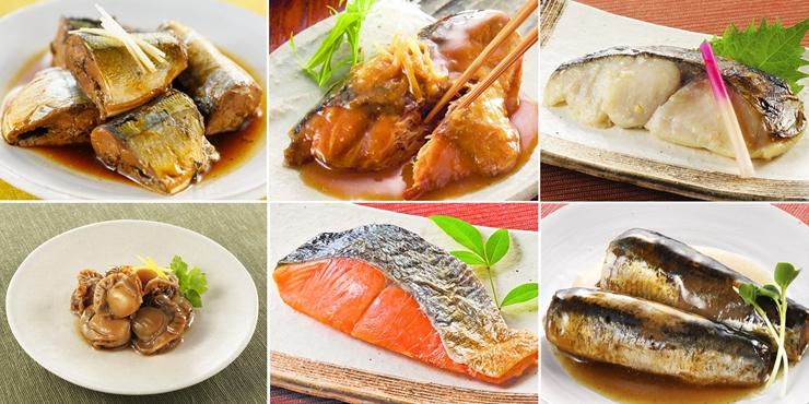 人気 おすすめ いつもの食卓に湯煎のみで職人の味をお届けいたします ふるさと納税 三陸おのや 釜石市 煮魚6種セット セールSALE%OFF 岩手県