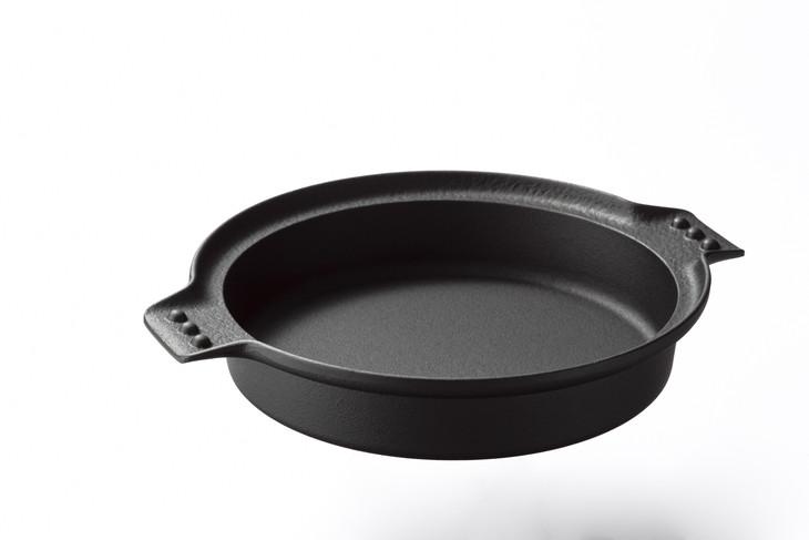 【ふるさと納税】南部鉄器 六つアラレすき焼鍋 24cm(F-106)[Z002]