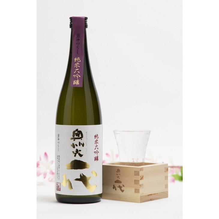 【ふるさと納税】奥州光一代 純米大吟醸 オリジナル枡セット[B012]