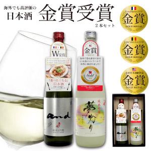 【ふるさと納税】酒蔵あさ開 金賞受賞酒 日本酒 飲み比べセット 720ml×2本