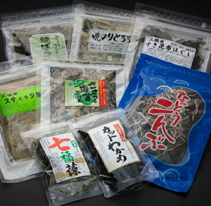 【ふるさと納税】2018富士國人気の海藻セット