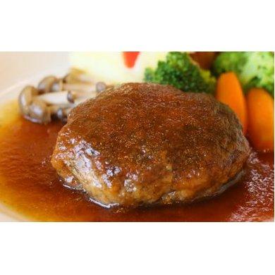 【ふるさと納税】蔵王産手作りハンバーグとオニオンスープ各3個 【お肉・惣菜】