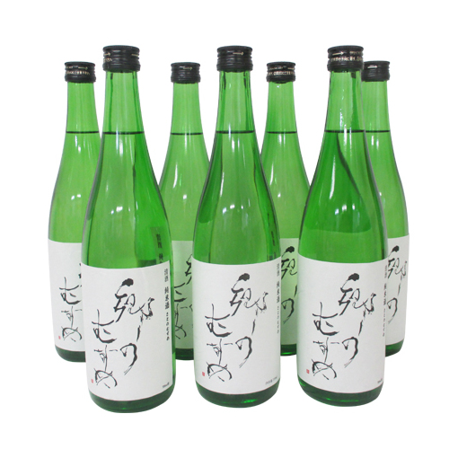 【ふるさと納税】純米酒「郷のむすめ」 720ml 7本 【お酒・日本酒・純米酒】