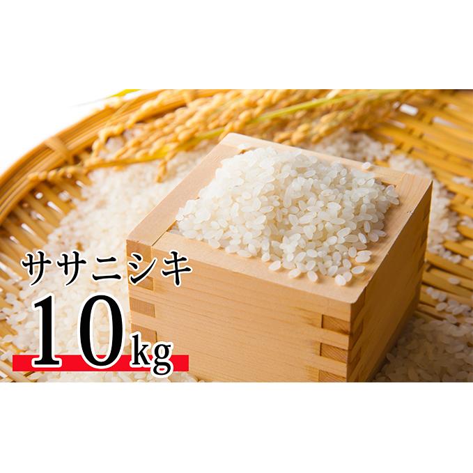 【ふるさと納税】令和元年産 郷の有機使用特別栽培米 ササニシキ 10kg 【米・お米・ササニシキ】