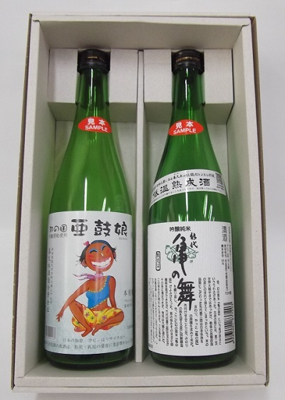 ふるさと納税 日本酒 チープ 焼酎 日本酒セット 秋田 酒 純米吟醸 吟醸米 喜久水酒造 亀の舞 即納最大半額 亜鼓娘
