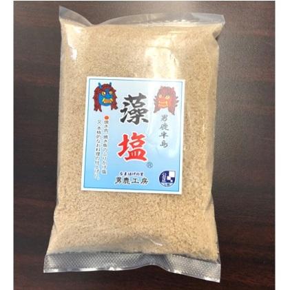 【ふるさと納税】男鹿半島の藻塩300g×4袋(ポリ袋入り) 【調味料・海塩・塩】