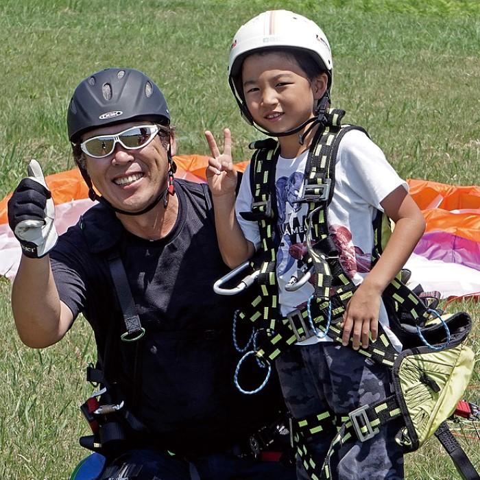 【ふるさと納税】【男鹿寒風山でパラグライダー!!】パラグライダー遊覧飛行体験コース 3名様 【体験チケット・レジャー】