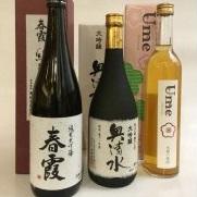 M1-49【ふるさと納税】美郷町内蔵元日本酒・梅酒セット
